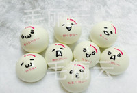 Big Kids other other 4.5CM Slow Rising New Styles Jumbo Cute Face Bread Bun Squishy Charms Phone Charm Free Shipping