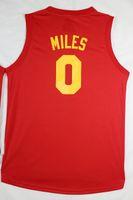 Wholesale Cheap Newest Style C J Miles Jersey Mesh Jerseys George Hill Monta Ellis Accept Mix Order