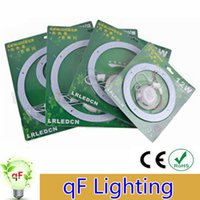 Wholesale 2x W W W W W V LED panel Circle Ring Light SMD Round Ceiling board the circular lamp board lighting