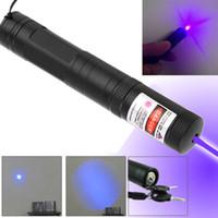 Wholesale Powerful G851 Adjustable Focus Burning lt mW nm Laser Pointer Light new arrival