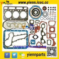 Wholesale Kubota D1463 engine gasket kit upper lower set with cylinder head gasket for Kubota GL221 GL240 GL241 Tractors D1463LN D1463NN parts repair