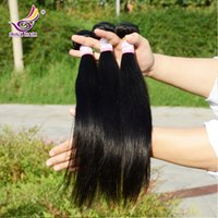 Wholesale Cheap Quality Malaysian Hair - 50% Off!Top quality 100% Human Hair Weave Weft Unprocessed Cheap Brazilian Peruvian Malaysian Indian Straight Hair Extensions 3bundles