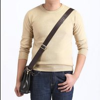 american mile - new high quality mile wile polo brand men s twist sweater knit cotton sweater jumper pullover sweater men