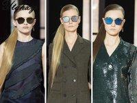 ac amber - New Sunglasses Women Men Gold Silver frame UV400 Metal Frame AC Lens Material Sunglass L