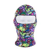 Wholesale D Thin Outdoor Cycling Bicycle Ski Balaclava Neck Full Face Mask Hat Motorcycle