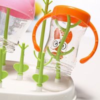 baby drying rack - Baby Feeding Bottle Drying Rack New Design Pacifier Feeding Shelf Clear Feeding For Baby Care