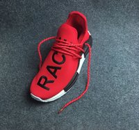 Wholesale NMD Human Race Mens Running Shoes NMD Pharrell Williams X NMD HUMANRACE Breathable Women Shoes Classic Sneakers Training Shoes
