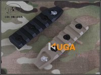airsoft rail guards - BD slots rail panel keymod rail systems for airsoft URX hand guard rail and All handguard rails Black and Dark Earth colors