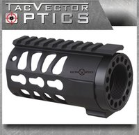 ar optics - TAC Vector Optics Tactical KeyMod inch AR Pistol Free Float Handguard Picatinny Rail Mount System fit Real mm M4