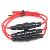 agc fuses - 10Pcs x20mm AGC Fuse Holder Inline Screw Type Wire Cable AWG for Car B00090 SMAD