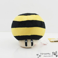 bee mario - Super Mario Series Plush Queen Bee Toad cm Mushroom Plush Doll Toy for children birthday gift Retail