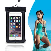 apple inflation - New Inflation Float Arm binding Waterproof Diving iphone6 S inch Bag case