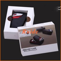 Wholesale Car Key Case Real leather for BMW F10 F20 F16 F30 F06 X3 X4 X5 X6 I I I M135 I I I I I Real Leather Car key pouch