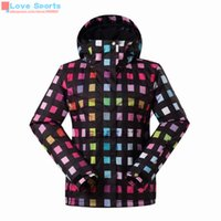 Wholesale Newest High Quality Super Fashion Women Ski Jacket Cotton Warm Snowboard Skiing Jackets Waterproof Breathable Clothes