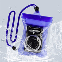 Wholesale New DSLR SLR Camera Waterproof Underwater Housing Case Pouch Dry Bag with Rope