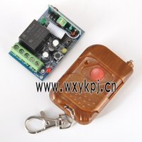 Wholesale NEW CH V10A Learning Code Receiver Switch with Suicase Cover Transmitter Remote Control Factory Price