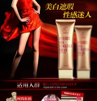 Wholesale Invisible Stockings BB Day Cream Sexy Beauty Facial leg Sunscreen Pore Concealers Whitening Moisturizer Body Skin Care