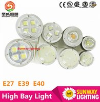 bay supply - 2016 CREE chip Meanwell power supply led High Bay Light E27 E40 Hook W W W W W W factory Warehouse Supermarket Lighting
