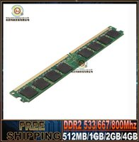 Wholesale Brand New Sealed DDR2 Mhz PC2 GB GB GB GB Desktop RAM Memory Lifetime warranty