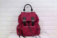 best nylon string - Best sell genuine leather women backpack style bags High famous brand top quality