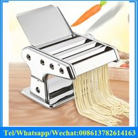Wholesale Manual Stainless steel pasta noodle maker noodle machinery Noodle making machine
