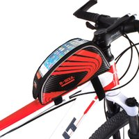 Wholesale Cycling MTB Front Top Tube Bag For quot Road Folding Bike Bag Basket Sport Cycle Bicycle Tube Bag