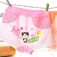 Wholesale Girl s Panties Pack Children Kids Girls Cartoon Printing Cotton Underwear Briefs Panties to Years Old