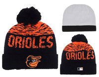 baltimore fashion - New Baltimore Orioles Pom Beanies Hot selling Sports Teams Knitted Skullies Authentic Brand Winter Hats YD