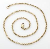 belcher chain necklace - Fine ct Yellow Gold Belcher Link Chain Necklace quot Hallmarked