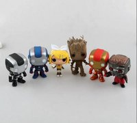 Wholesale Iron man Kinds Galaxy convoy Kinds PVC Action Figures Minion Toys Dolls POP FUNKO God steal dads Christmas Gifts