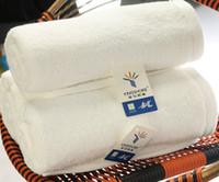 Wholesale 1 dozen high quality cotton thick hotel hand towel white sport towels