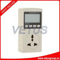Wholesale GM86 V Digital LCD Display Power Meter Energy Meter