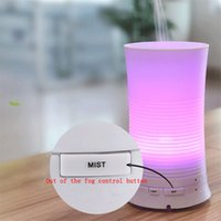 Wholesale Hot Sale New Arrival Ultrasonic Color Rainbow ML Ultrasonic Aroma Diffuser Humidifier LED Color Changing Air Mist Purifier