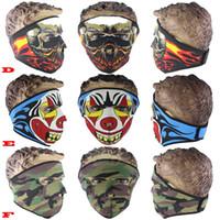 Wholesale pc New Cycling Face Mask Sports Ski Motorcycle Biker Motorbike Warmer Full Face Mask Headscarf