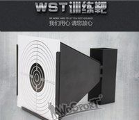 bb target - Direct indoor and outdoor portable recyclable metal target shooting target shooting training WSTTactical Paintball Shooting Aim BB Training