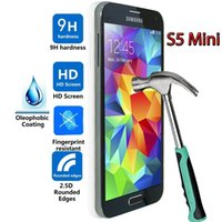 broken glass - SM G800F G800H S5 Mini Screen protector Tempered Glass for Samsung Galaxy S5 Mini Protector de pantalla Broken Proof Shipping