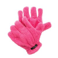 amazon plush - Amazon Hot Sale Hairdryer Gloves Fast Hair Drying Gloves Quick Dry Hair Super Soft Plush Gloves Pink Hair Drying Gloves