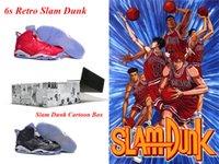 basketball shoes cartoons - dan Slam Dunk mens basketball shoes with Cartoon Box Original for sale dan s Slam Dunk dan slam dunk s retro shoes