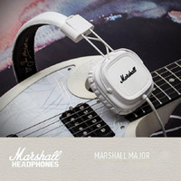 Cheap Marshall Major Headset With Mic Deep Bass DJ Hi-Fi Headphones HiFi Earphones Professional DJ Monitor Headphones