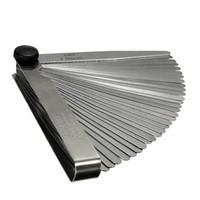 Wholesale 32 Blade mm Metric Feeler Gauge Gap Filler Thickness Measurement Tool
