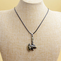 american axe - Hot sell exaggerate geometry axe weapon necklace personality vintage titanium steel necklace