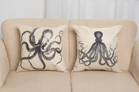 Wholesale Decorative Cushion Covers Cushion Covers The Export Trade Of Amazon Explosion Of Soft And Comfortable Cotton Pillow For Octopus