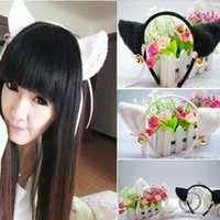 american hairband - 1PC Headband For Women Cosply Hair Bands Cat ear Hairband Plaited Braided Hair Accessories DHT273