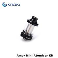 amor ring - Vaporizer Atomizer Original Wismec Amor Mini Atomizer With Hidde Airflow Control Ring ML Capacity Mini Amor Tank Fit Reuleaux RX75 Mod