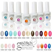 achat en gros de nail polish-Harmony Gelish 440 couleurs de haute qualité 15ml gel ongles polonais UV gel de couleur Gel Soak Off Gel ongles pour Fedex b331
