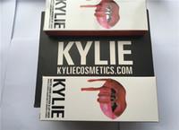 Wholesale Factory Direct New Makeup Kylie Lips Lip Kit Matte Liquid Lipstick Lip Liner Set Different Colors