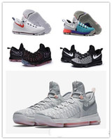 kevin durant shoes - new arrival high quality kd Basketball shoes Kevin Durant KD White black sneaker for men running shoes size us