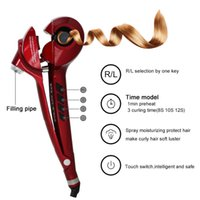 Cheap Hair Curlers Secret Curling Styling LCD Display PTC Heating Hair Roller Hair StylingSalon Collection Automatic Steam Curlers