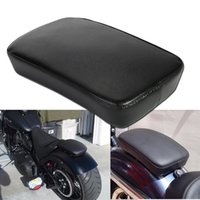 Wholesale Black Rear Fender Passenger Pillion Pad Seat Suction Cup For Harley Custom