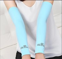 Wholesale 2016 Cycling arm warmers Men And Women Sun Protection Breathable Quick Dry Arm Sleeves Cycling Sleeve Cover Riding Outdoor Equipment